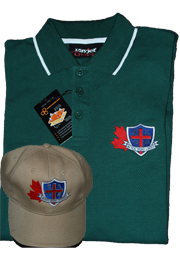 WYKAAO Golf Shirt and Cap