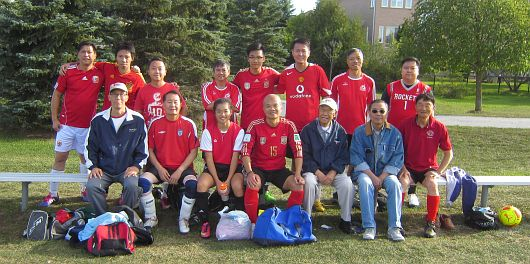 Soccer Re-match with CU Alumni