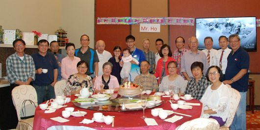 Celebrating Mr. Ho's 82nd Birthday