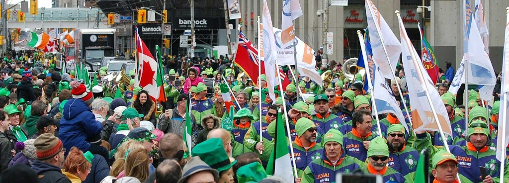 st patricks day Toronto 1