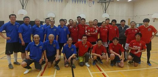 Friendly Soccer Match with CUHK Alumni