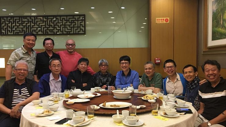 Dinner Gathering on April 10, 2018