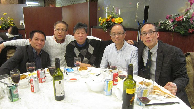 Class of '78 at HKJSAA CNY Celebration Dinner