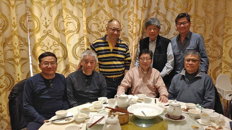 Lunch with Louis Leung ('71)