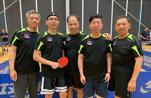 Team WYKAAO at HKISAA Table Tennis Tournament