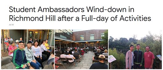 Wind Down in Richmond Hill